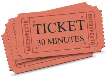 Ticket de maintenance de site Joomla 30 minutes